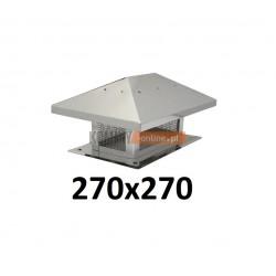 Osłona na komin 270x270 mm z siatką