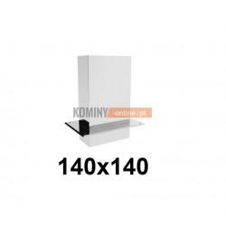 Przedłużenie prostokątne 140x140 mm