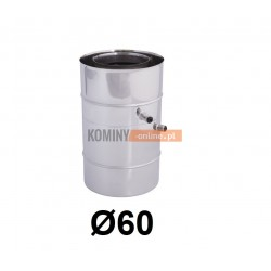 Miska powietrze-spaliny 60-100 mm