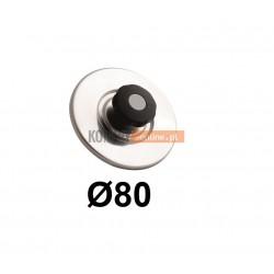 Zaślepka trójnika spalinowego 80 mm