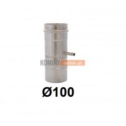 Miska pionowa spalinowa 100 mm
