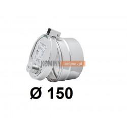 Regulator ciągu  przeciwybuchowy 150 mm
