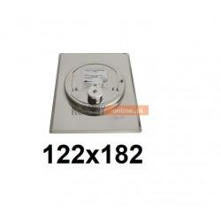 Regulator ciągu prostokątny 122x182 mm