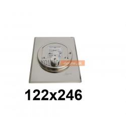 Regulator ciągu komina 122x246 mm