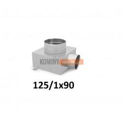 Skrzynka rozdzielcza 125-1x90 mm