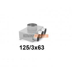 Skrzynka rozdzielcza 125-3x63 mm