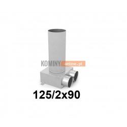 Skrzynka rozdzielcza 125-2x90 mm