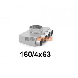 Skrzynka rozdzielcza 160-4x63 mm
