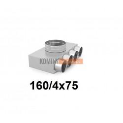 Skrzynka rozdzielcza 160-4x75 mm