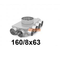 Skrzynka rozdzielcza 160-8x63 mm