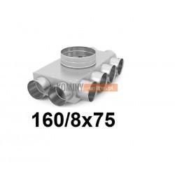 Skrzynka rozdzielcza 160-8x75 mm