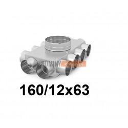 Skrzynka rozdzielcza 160-12x63 mm