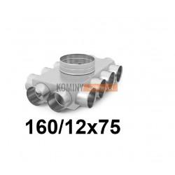 Skrzynka rozdzielcza 160-12x75 mm