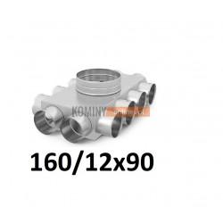 Skrzynka rozdzielcza 160-12x90 mm