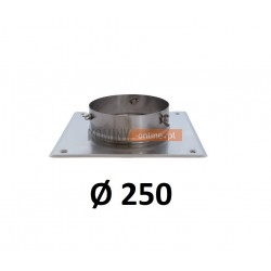 Podstawa kominowa 250 mm CHROM