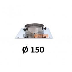 Podstawa kominowa 150 mm CHROM