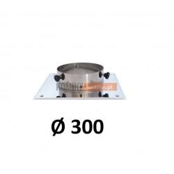 Podstawa kominowa 300 mm CHROM