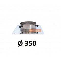 Podstawa kominowa 350 mm CHROM