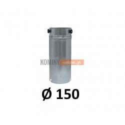 Przedłużka rurowa 150 mm / 1m OCYNK