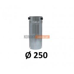 Przedłużka rurowa 250 mm / 1m OCYNK