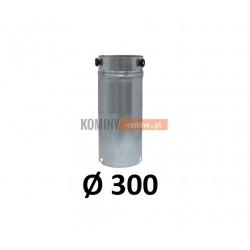 Przedłużka rurowa 300 mm / 1m OCYNK