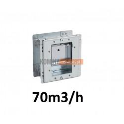 Stabilizator wentylacji kwadratowy 70m3/h