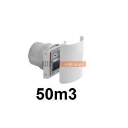 Stabiler wentylacji kwadratowy 50m3/h z osłoną