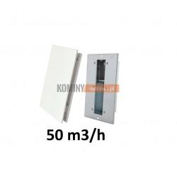 Nowoczesny stabilizator wentylacji prostokątny 50 m3/h