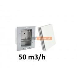 Stabilizator 50m3/h kwadratowy z osłona BIAŁĄ