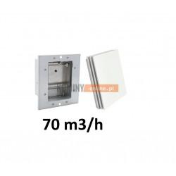 Stabilizator 70m3/h kwadratowy z osłona BIAŁĄ