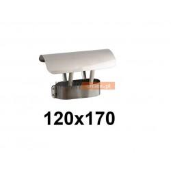 Daszek owalny 120x170 mm