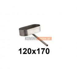 Miska owalna 120x170 mm