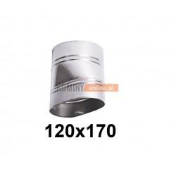 Redukcja owalna 120x170 mm