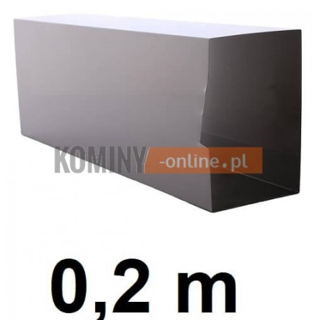 Przedłużenie rewizji komina 200 mm