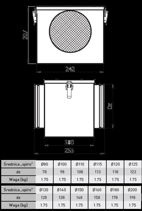 skrzynka filtracyjna izolowana