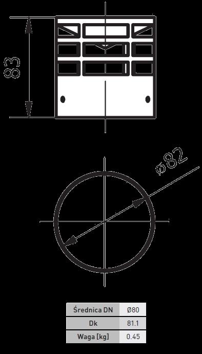 wyrzutnia boczna pellet