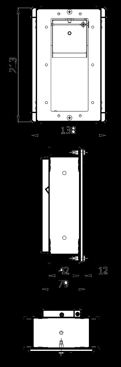 stabilizator wentylacji prostokątny