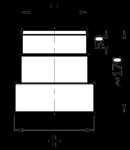 redukcja żaroodporna 2 mm
