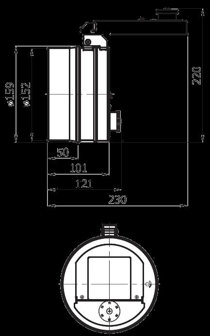 regulator ciągu komina przeciwwybuchowy