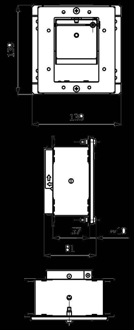 stabilizator wentylacji kwadratowy